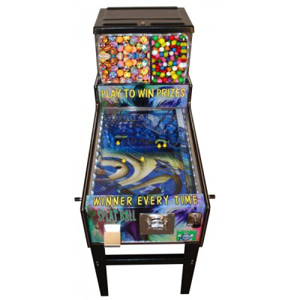 Pinball Gumball Machine Pinball Style Game