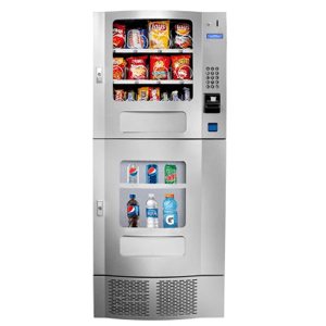 Seaga OVM 6 Beverage-16 Snack Silver Combination