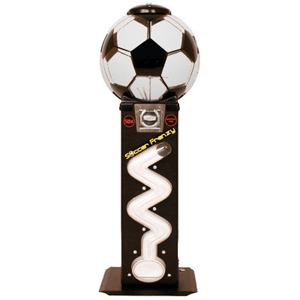 Soccer Frenzy Super Ball Zig Zag Bulk Vending Machine