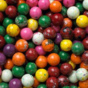 "Splat Jawbreaker w/Candy Center 1"" /25mm 850 Ct. Refill #C20852"