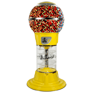 "Mega 6'9"" Wizard Spiral Bulk Vending Machine"
