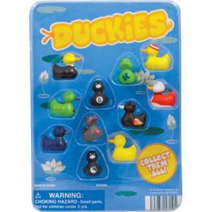 Duckies Figurines - 1.1 Inch Acorn-Shaped Capsules