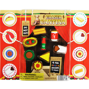 Eraser Cantina - 2.2 Inch Acorn-Shaped Capsules