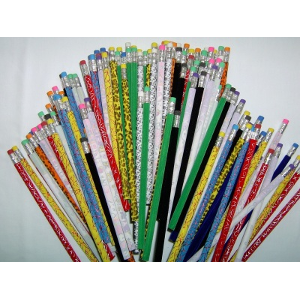 Fuzzy Pencils In Mixed Colors-Designs