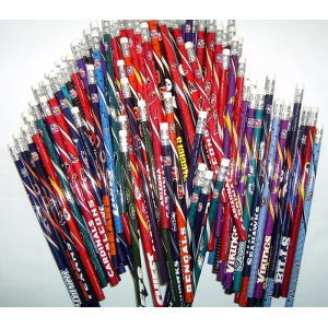 NFL 32 Teams Assorted #2 Wood Pencils