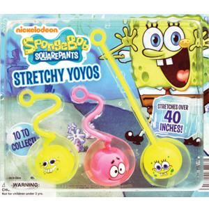 "SpongeBob SquarePants Stretchy Yo Yos.-2.2"" Toy Capsules"