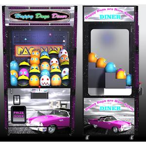 DINER-Crane Merchandiser-Skill Claw Impulse Machine