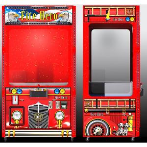 FIRE HERO-Crane Skill Claw Arcade Merchandiser