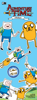 Adventure Time Stickers-Sticker Vending Machine Refill