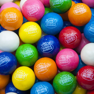 Dubble Bubble Assorted Fruit Flavor Gumballs (850 Ct.)
