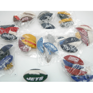 NFL Puzzle Erasers 32 Count