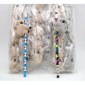 Koala Pencil Clips Two Colors 36 Count