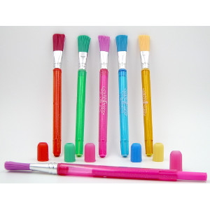 Brush-Off Extendable Erasers Five Colors 50 Ct.