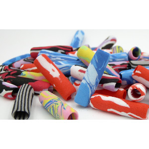 Foam Grip Multi Marble Color Mix 48 Count