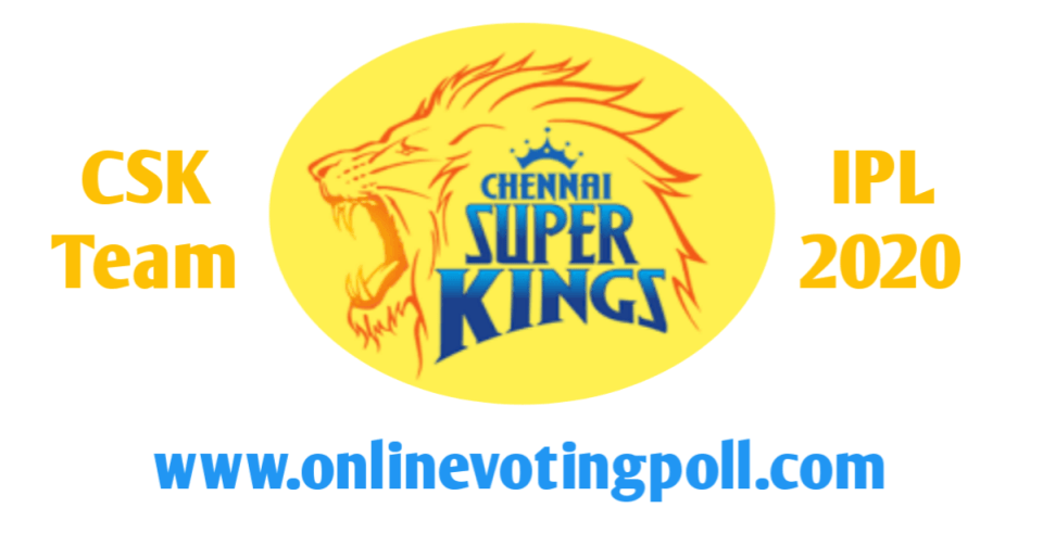 Chennai Super Kings Team 2020 Player List