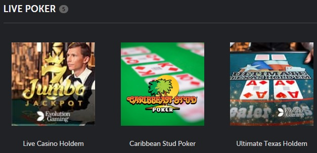 Betsafe Live Poker