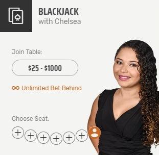 Blackjack With Chelsea