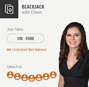 Blackjack With Eileen