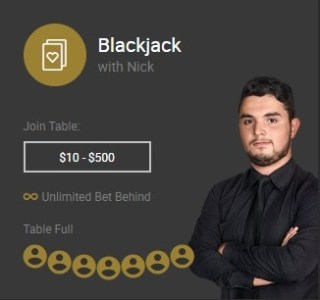 Blackjack with Nick