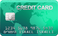 Credit Card כרטיס אשראי להימורים עבור ישראלים