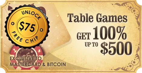 HighNoon Casino Casino Welcome Offer for Table Games