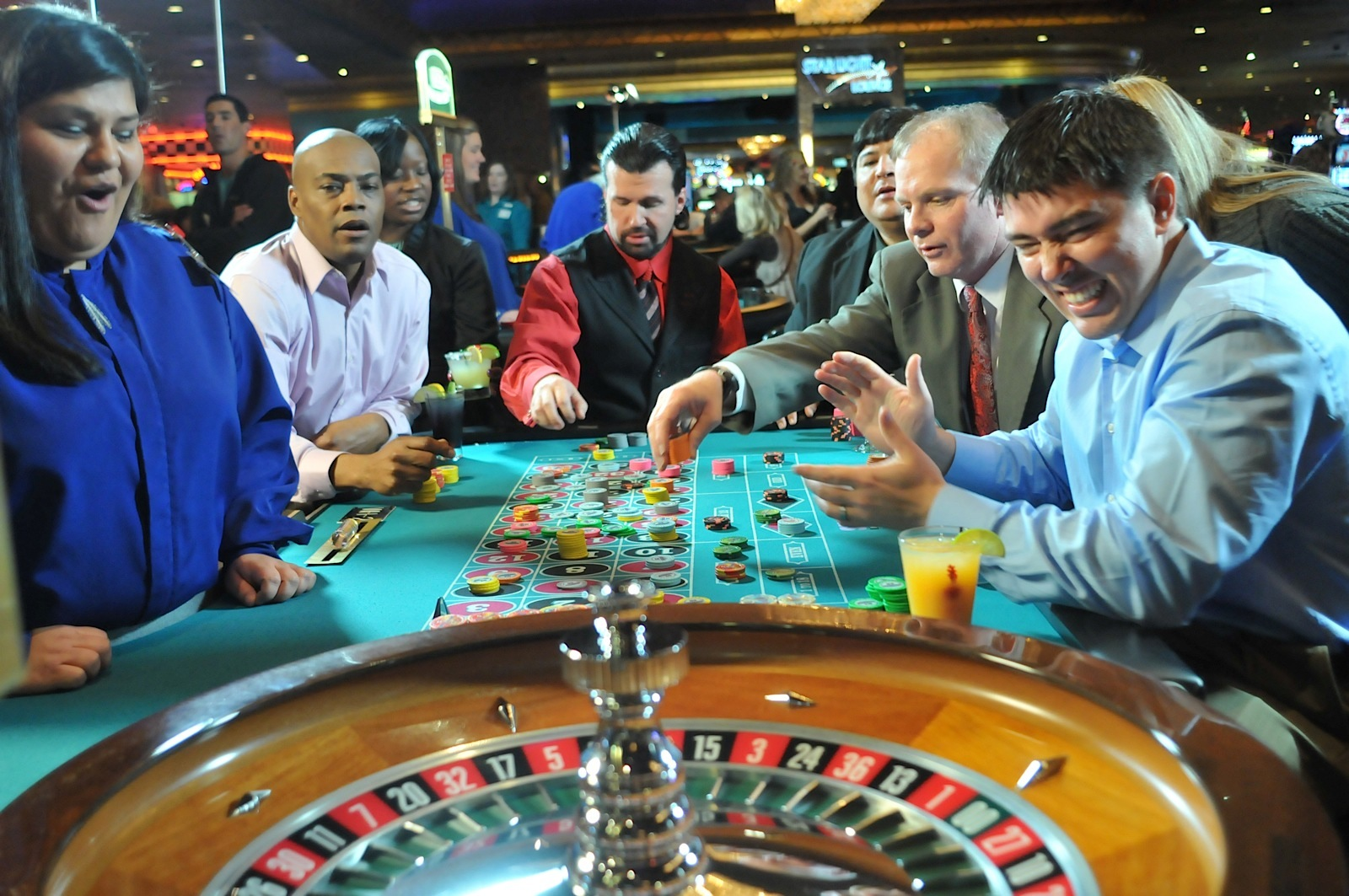 Roulette at Gambling Resorts