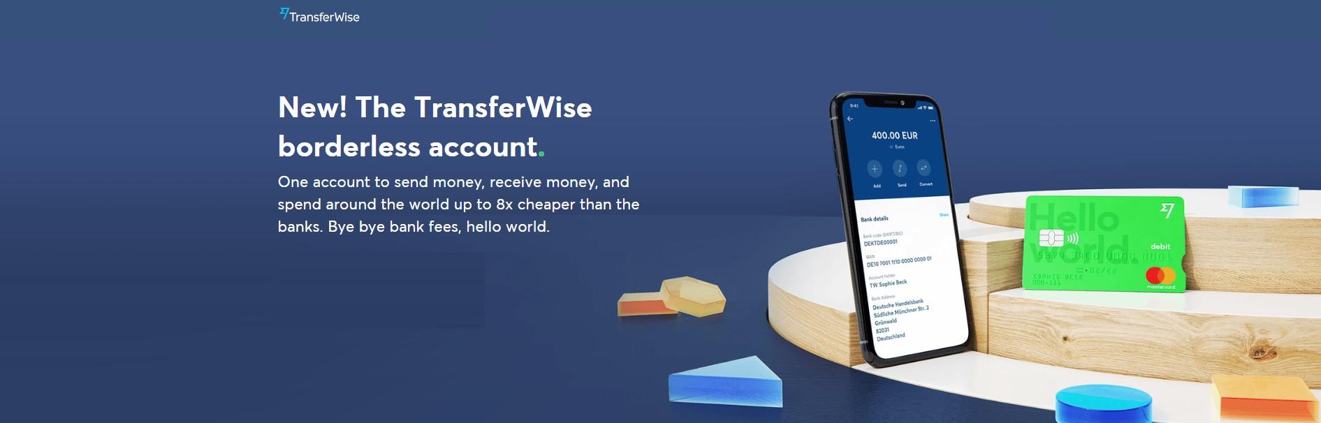 "TransferWise-חשבון בנק בחו""ל"