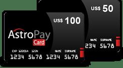 כרטיס Astropay