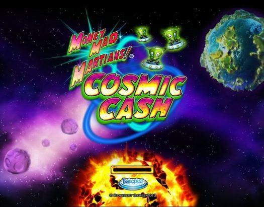 Money Mad Martians: Cosmic Cash -Slot