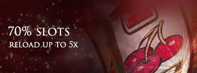 Lucky Red Casino Tuesday 70% deposit match up to 5 times Bonus