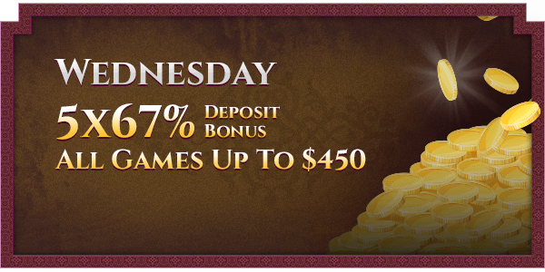 Wednesday  Casino Promotions