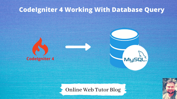 CodeIgniter 4 Working With Database Query
