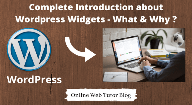 Basics of Wordpress Widgets