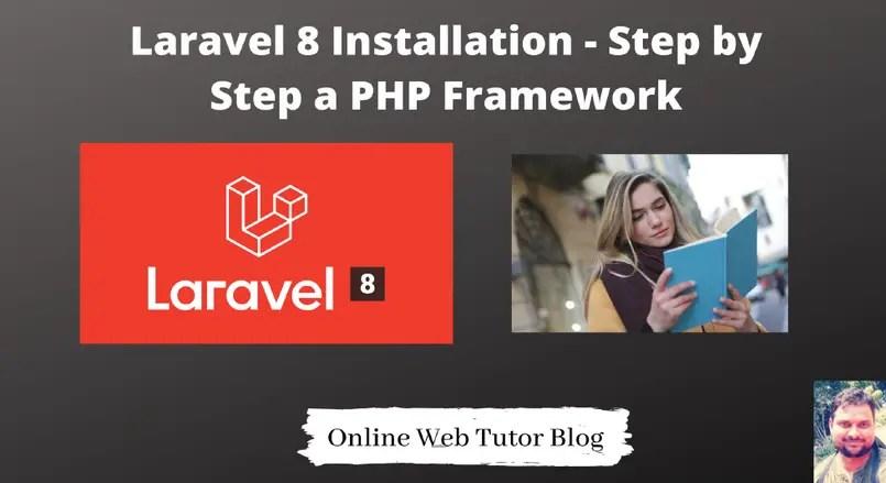 Laravel-8-Installation-Step-by-Step