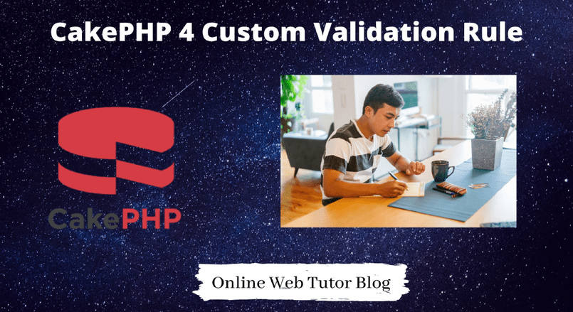 CakePHP 4 Custom Validation Rule in Form Inputs