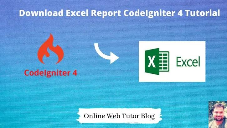 Export-Data-Into-Excel-Report-In-CodeIgniter-4-Tutorial