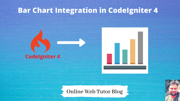 Bar-Chart-Integration-with-CodeIgniter-4-Tutorial