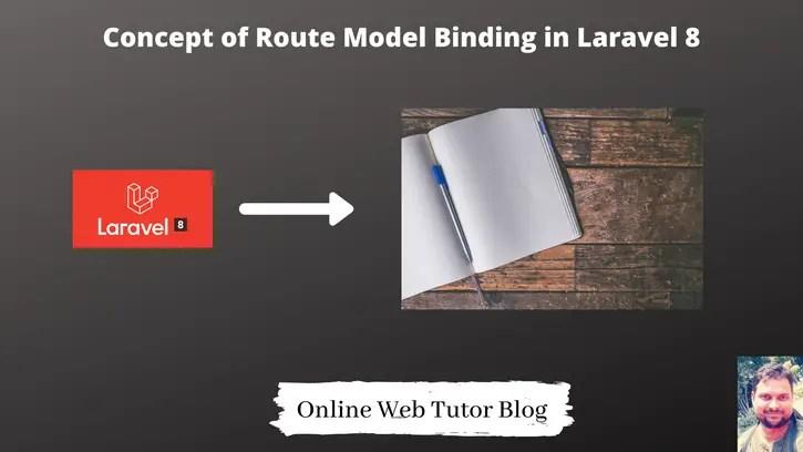 Concept-of-Route-Model-Binding-in-Laravel-8
