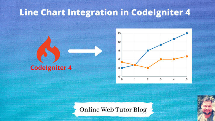 Line-Chart-Integration-with-CodeIgniter-4-Tutorial