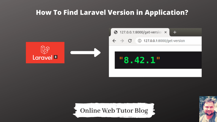 How-To-Find-Laravel-Version-in-Application