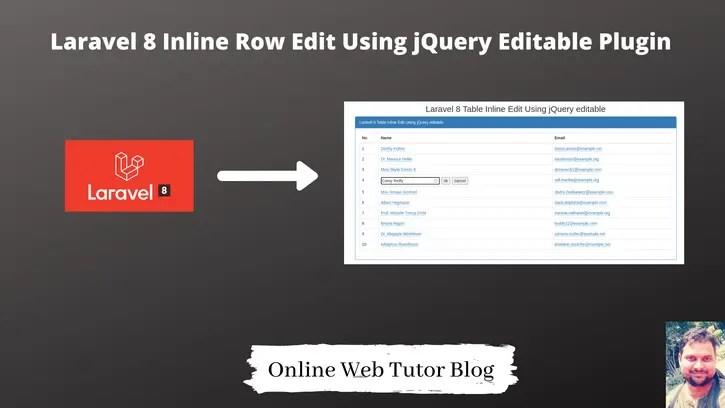 Laravel-8-Inline-Row-Edit-Using-jQuery-Editable-Plugin