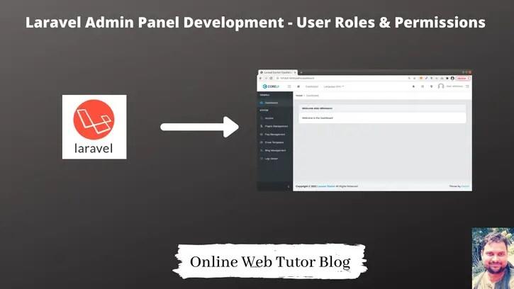 Laravel-Admin-Panel-Development-User-Roles-Permissions