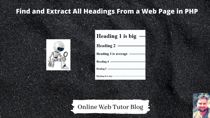 Find-and-Extract-All-Headings-From-a-Web-Page-in-PHP