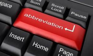 Styles for abbreviations and contracted words in business writing