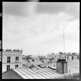 Über den Dächern von Paris