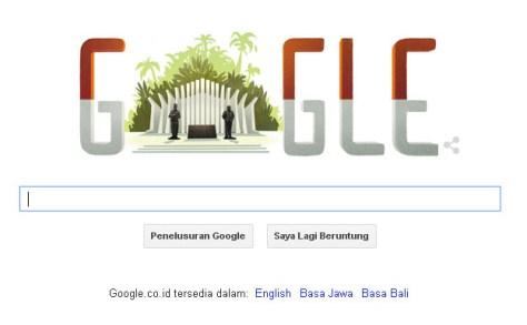 google 70 tahun kemerdekaan
