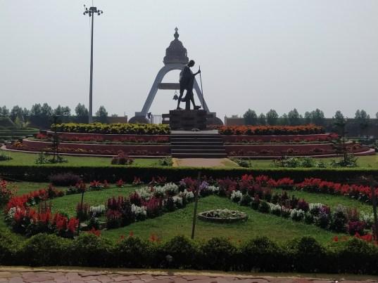 Gandhi Park near Golden sea beach, puri