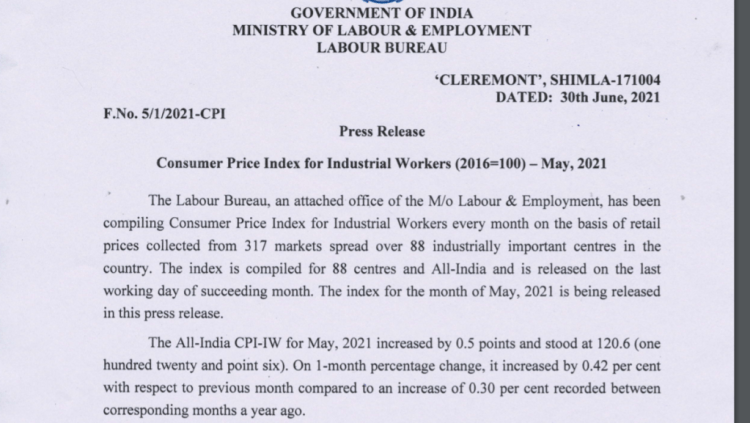 May 2021 AICPIN - IW for IDA CPSE Bank Govt. employees