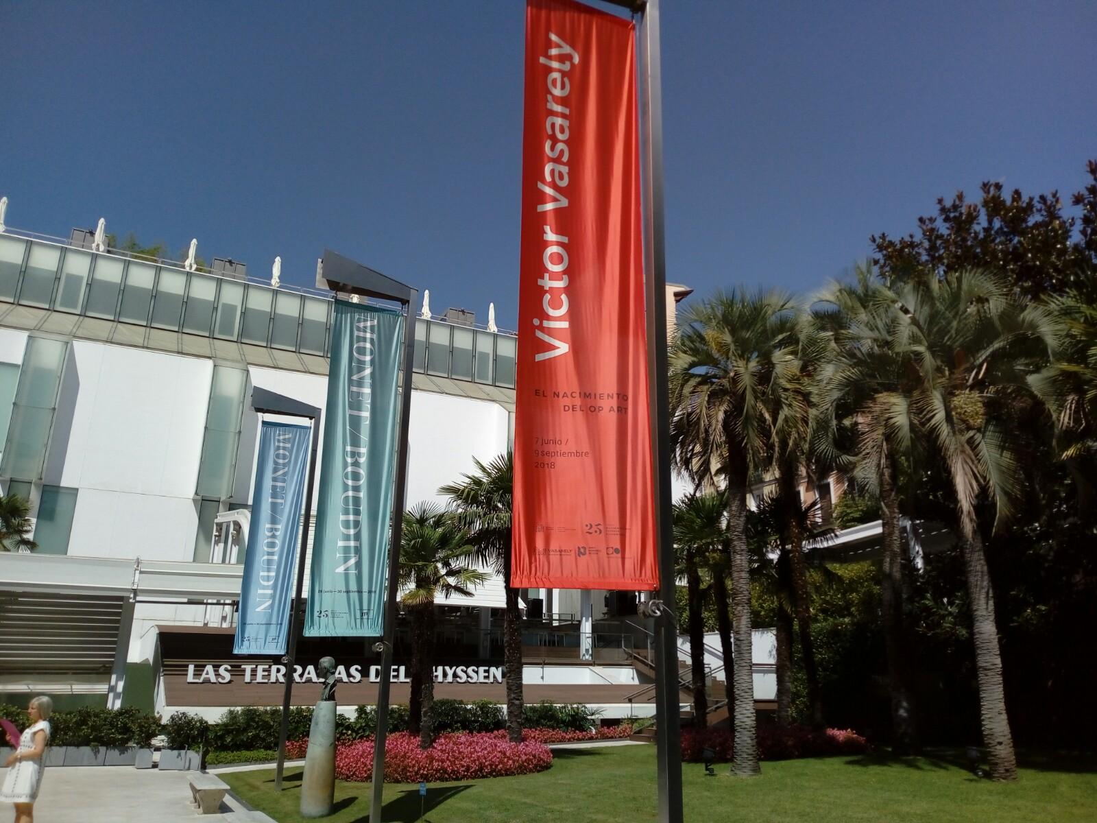 Víctor Vasarely. EL NACIMIENTO DEL OP-ART. Museo Thyssen Bornemisza. ¡¡Solo hasta el 9 de septiembre!!