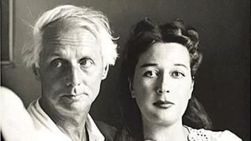 Dorothea Tanning y Max Ernst. Onlyartravel